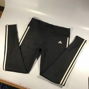 Black Adidas workout pants
